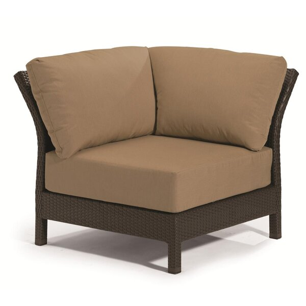 Evo Corner Patio Chair with Cushions by Tropitone Tropitone