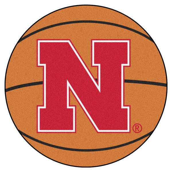 NCAA University of Nebraska Basketball Mat by FANMATS