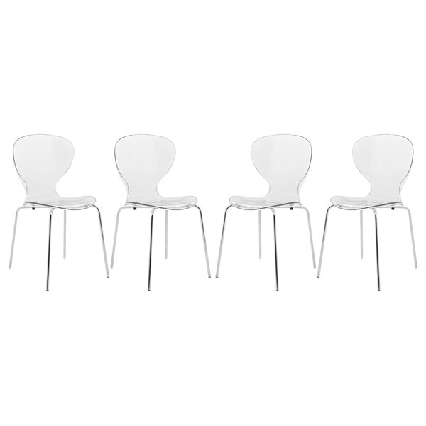 Oyster Side Chair (Set of 4) by LeisureMod