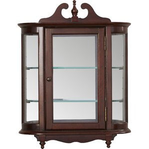 Kallen Wall-Mounted Curio Cabinet by Astoria Grand