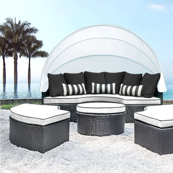 Sombra Daybed with Cushions by Solis Patio