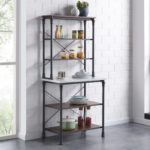 Shop For Magana Iron Baker's Rack Great deals