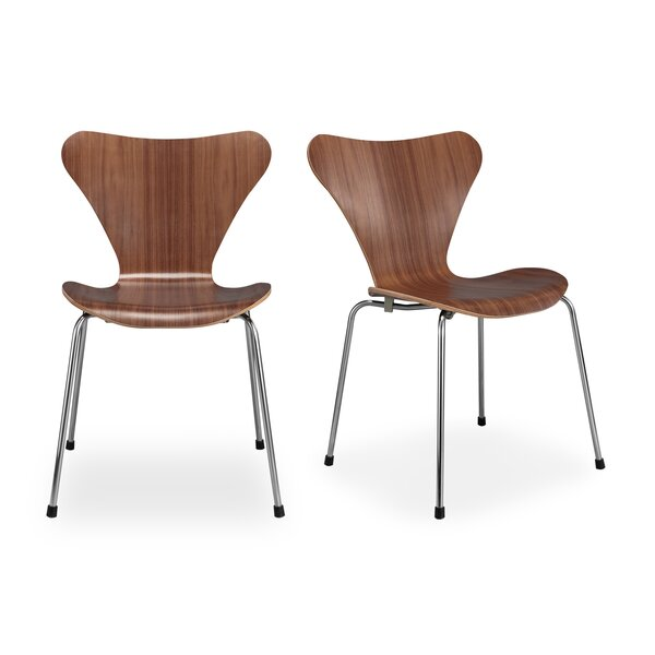 Aleigha Dining Chair (Set of 2) by Comm Office