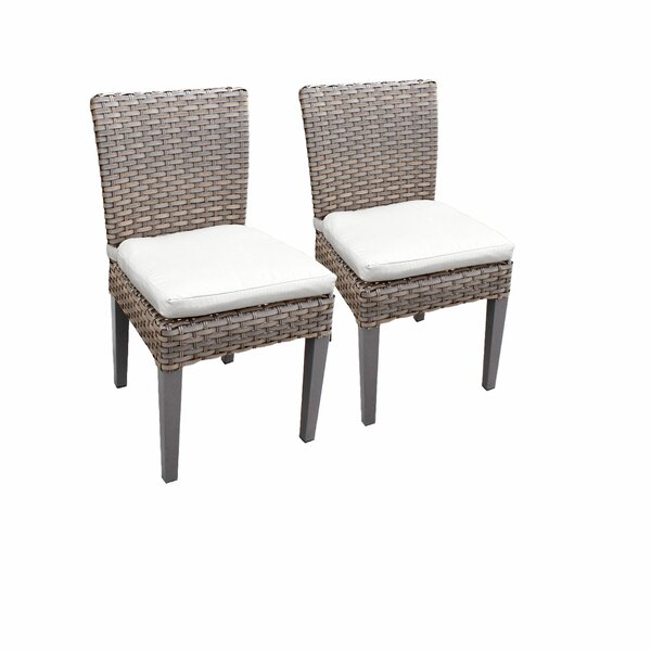 Romford Patio Dining Chair with Cushion (Set of 2) by Sol 72 Outdoor Sol 72 Outdoor