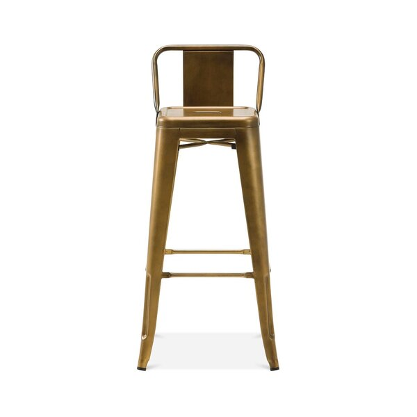 Briele Steel Low Back 30 Bar Stool (Set of 4) by Trent Austin Design