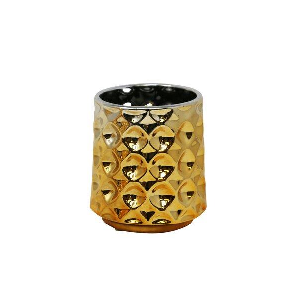 Noor Round Decorative Ceramic Pot Planter by Mistana