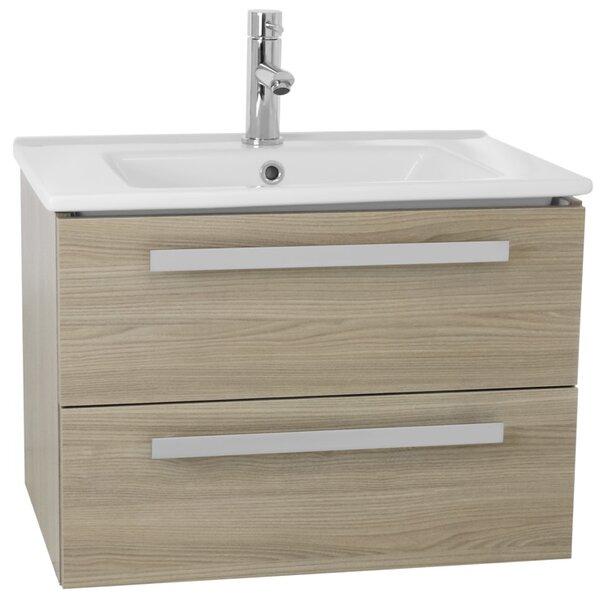 Dadila 25 Single Wall Mount Bathroom Vanity Set by Nameeks Vanities