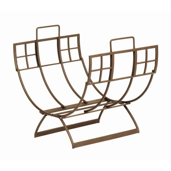 Arts and Craft Log Rack by Minuteman International