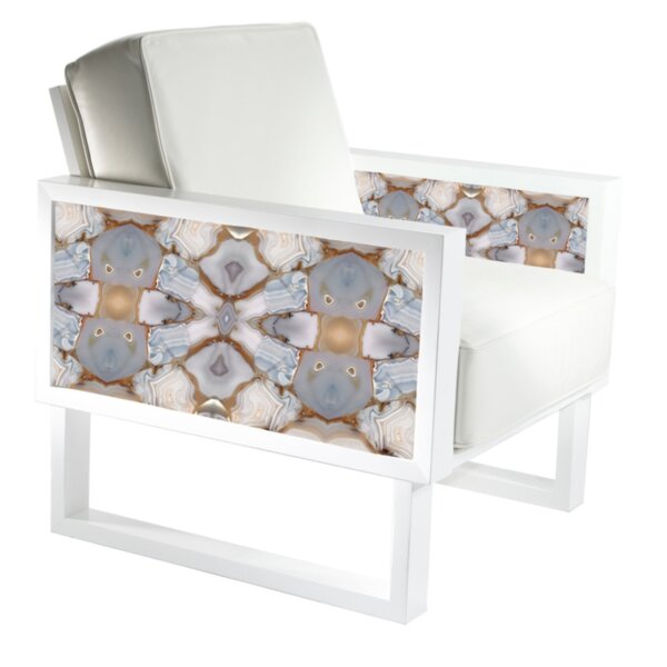 Crandell Armchair by Bungalow Rose Bungalow Rose