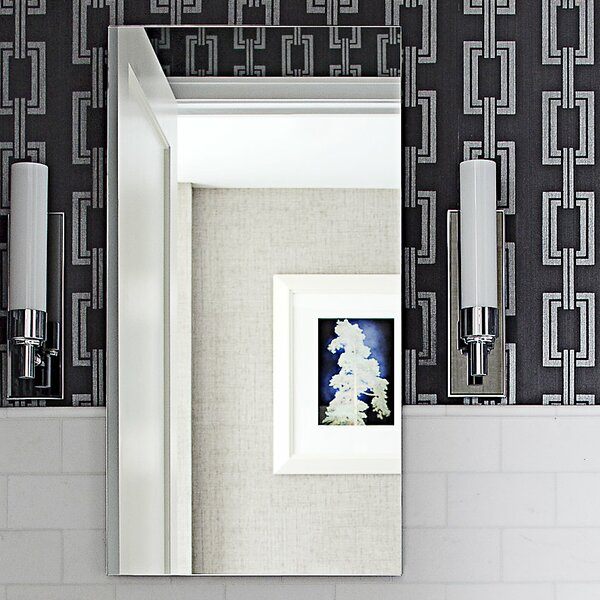 M Series 11.25 x 30 Recessed Framed Medicine Cabinet by Robern