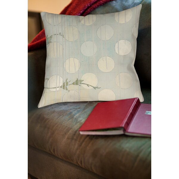 Summer Vine 3 Printed Throw Pillow by Manual Woodworkers & Weavers