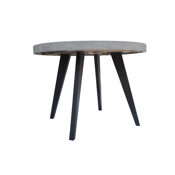 Fiskeville Acacia Round Dining Table by Union Rustic Union Rustic