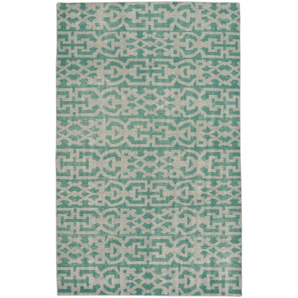 Classic Hand-Knotted Grass Area Rug by Capel Rugs