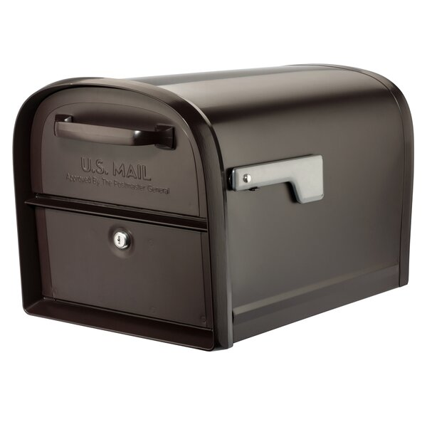Oasis 360 Locking Post Mounted Mailbox by Architectural Mailboxes