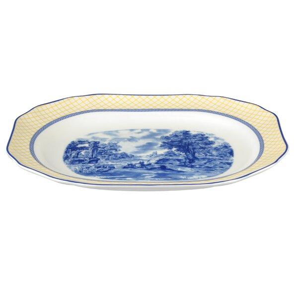 Giallo Rectangular Platter by Spode