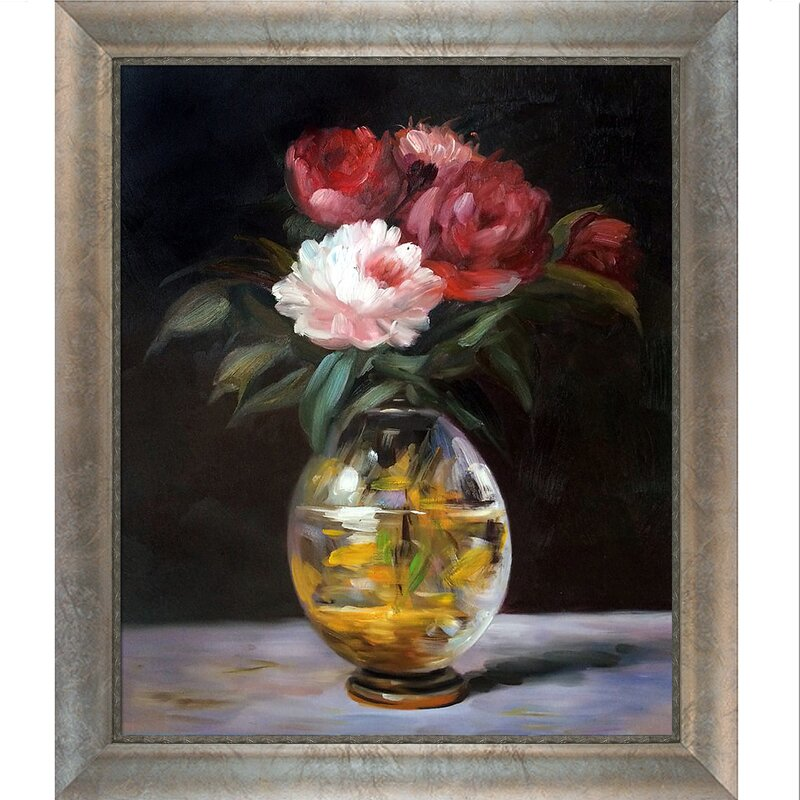 Tori Home Bouquet of Flowers by Edouard Manet Framed Graphic Art on ...