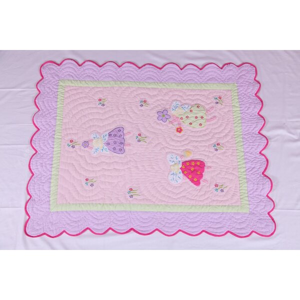 Fairyland Crib Quilt by Bacati