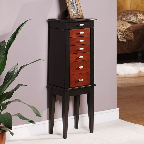 Southport Jewelry Armoire with Mirror by Wildon Home ®