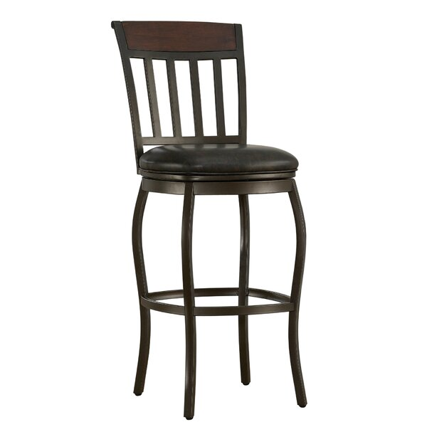 Eleanor 30 Swivel Bar Stool by Red Barrel Studio
