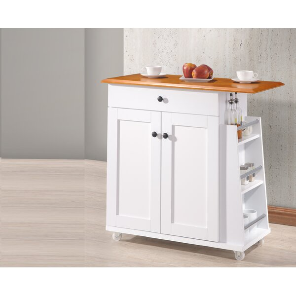 Lucrezia Kitchen Cart by Andover Mills