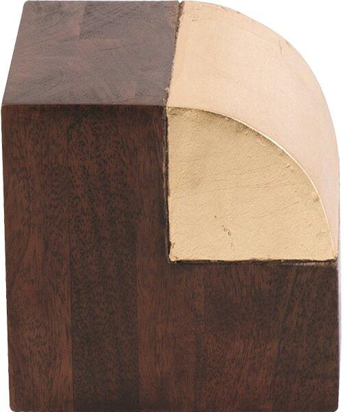 Fan Gilded Wood Object by DwellStudio