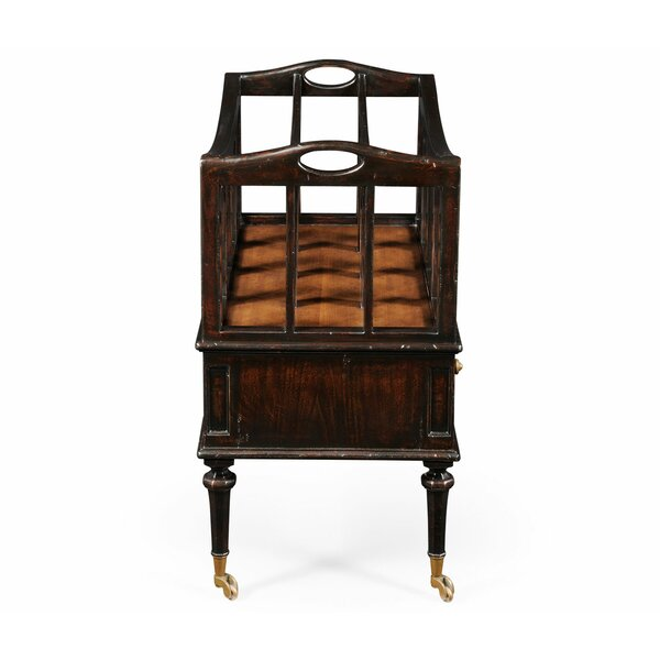 Ebonised Bar Cart by Jonathan Charles Fine Furniture