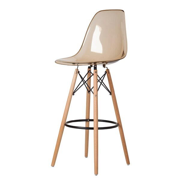 Mcelvain Mid-Century 31 Bar Stool by Wrought Studio