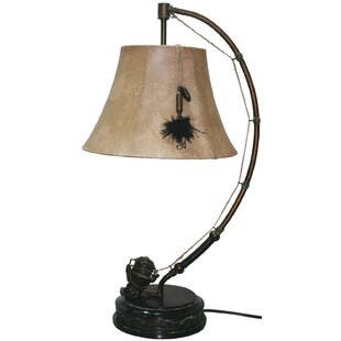 Best Price Spinning Reel 27 Arched Table Lamp By Santa's Workshop