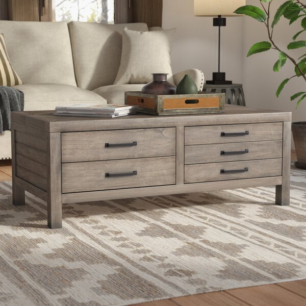 Brianne Lift Top Coffee Table By Union Rustic