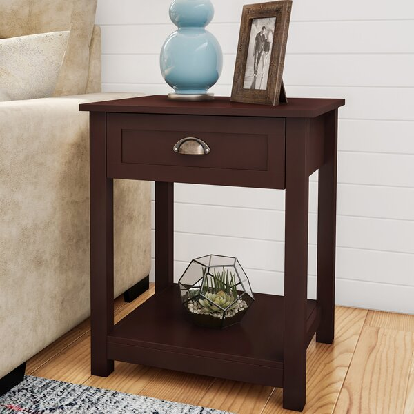Ozark End Table With Storage By Red Barrel Studio