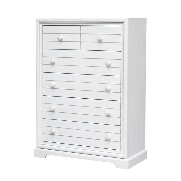 Lauren 6 Drawer Chest by Rosecliff Heights