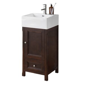 Juliet 18 Single Bathroom Vanity Set