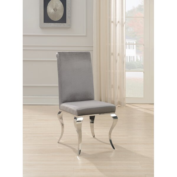 Teller Velvet Upholstered Side Chair (Set Of 4) By Rosdorf Park