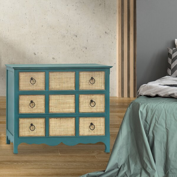 Chelsey 3 Drawer Double Dresser by Rosecliff Heights