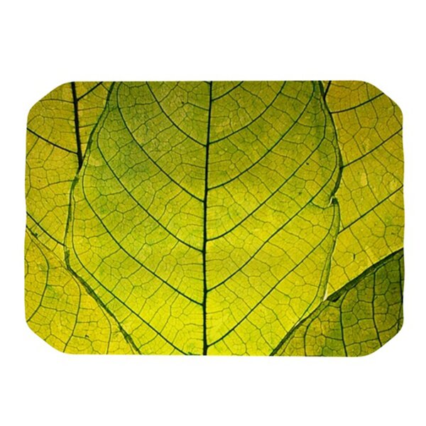 Every Leaf a Flower Placemat by KESS InHouse
