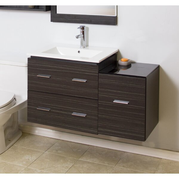 38 Single Modern Wall Mount Bathroom Vanity Set
