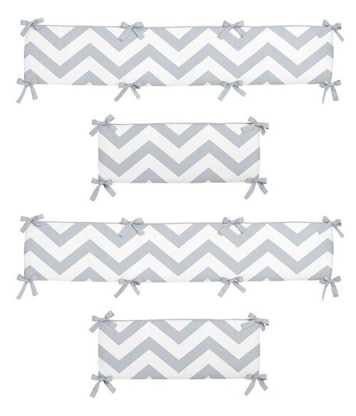 Chevron Crib Bumper by Sweet Jojo Designs