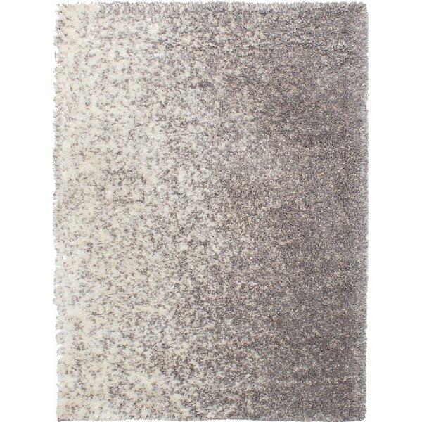 Jimison Cream/Dark Gray Area Rug by Latitude Run