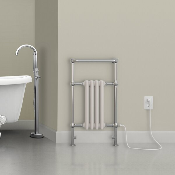 Comfort Classic 4 Freestanding/Wall Mounted Electric Towel Warmer by Ancona