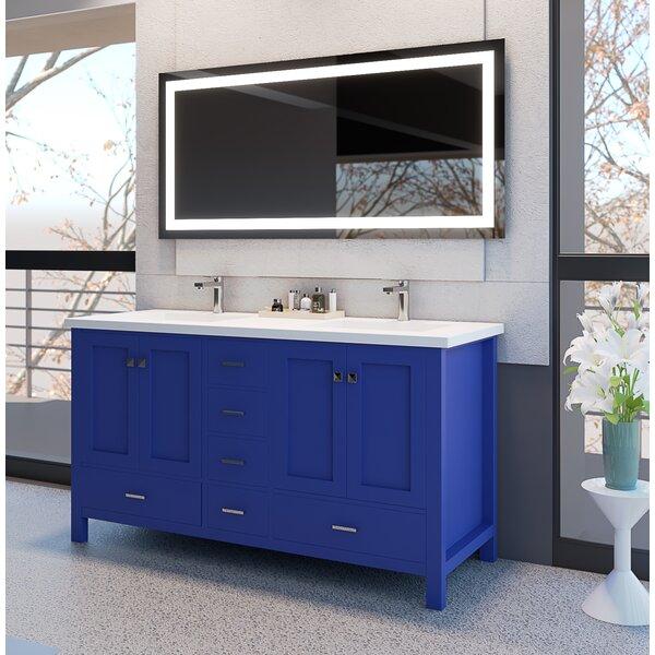 Ariel 60 Double Bathroom Vanity Set