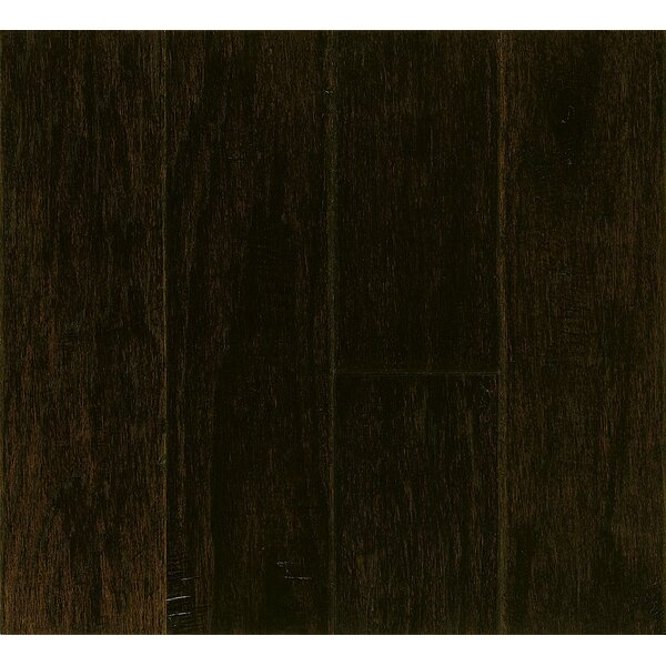 Random Width Engineered Hickory Hardwood Flooring in Extra Dark by Armstrong Flooring
