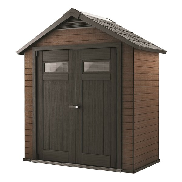 Fusion 7 ft. 6 in. W x 4 ft. D Traditional Tool Shed by Keter