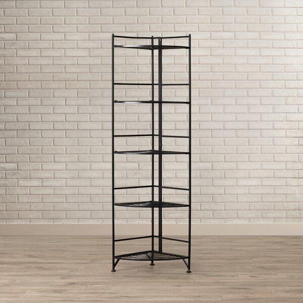 D'Aulizio Corner Unit Bookcase by Ebern Designs