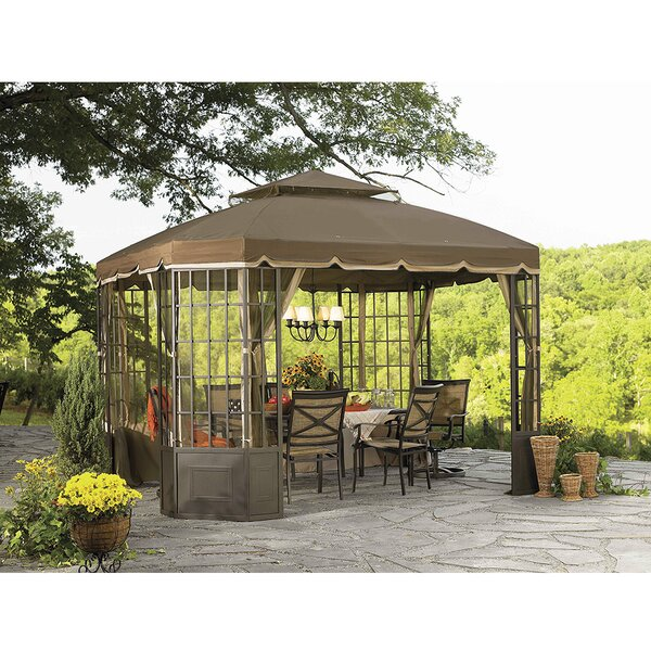 Replacement Canopy (Deluxe) for Go Bay Window Gazebo by Sunjoy