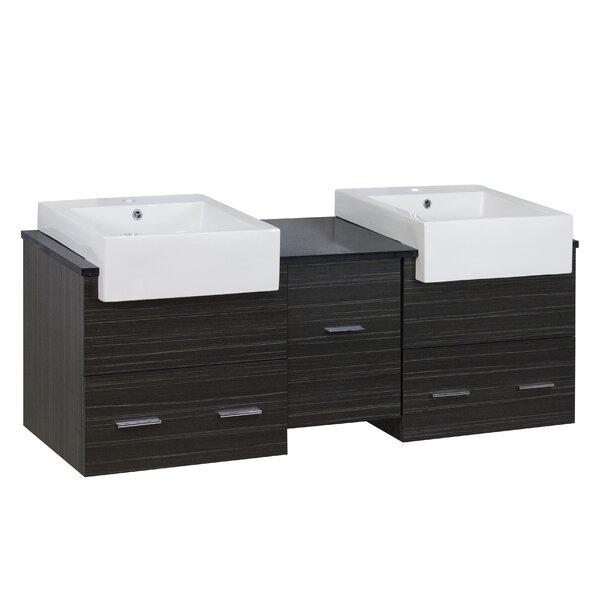 Xena Farmhouse 60 Double Bathroom Vanity Base Only