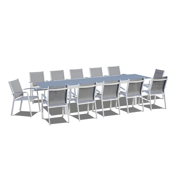 Extendable 13 Piece Dining Set by Urban Furnishings
