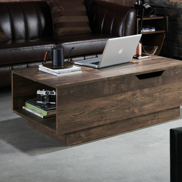 Dekker Lift Top Block Coffee Table By Union Rustic