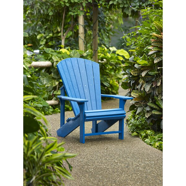 Generations Plastic Adirondack Chair by CR Plastic Products CR Plastic Products