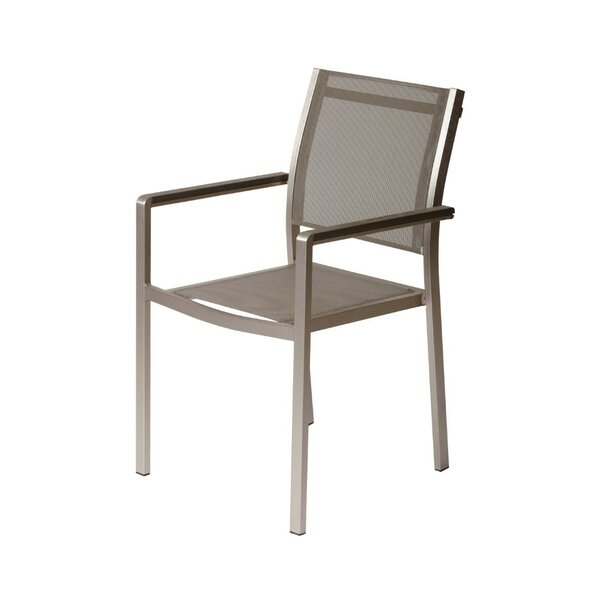 Layton Aluminum Frame Patio Dining Chair (Set of 6) by Orren Ellis