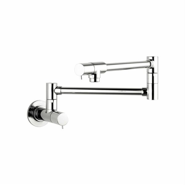 Talis S Two Handle Wall Mounted Pot Filler by Hansgrohe